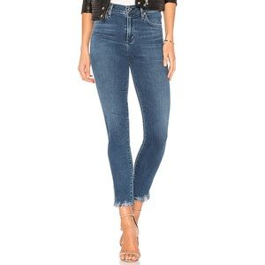 EUC Rag & Bone Removed Hem Ankle Crop Jeans